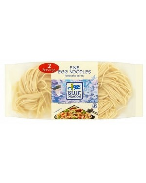 B/dragon Fine Egg Noodles (16 x 100g)
