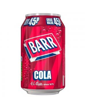 Barr Cola 330Ml Bevanda Frizzante Gusto Coca Cola