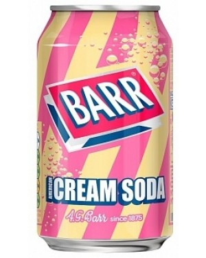 Barr Cream Soda PM49p (24 x 330ml)