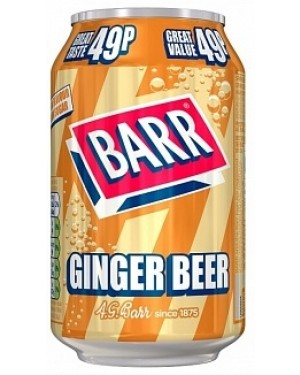Barr Ginger Beer PM49p (24 x 330ml)