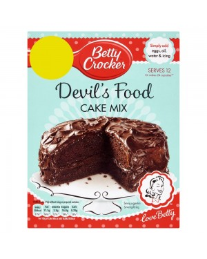 Betty Crocker Devils Food Cake Mix