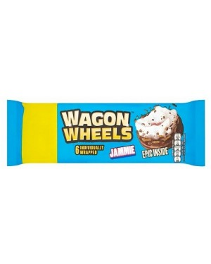 Burtons Wagon Wheels Jammie PM£1 (16 x 229g)