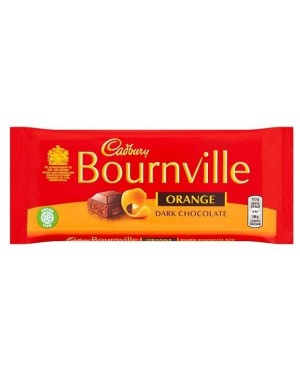 Cadbury Bournville Orange (17 x 100g)