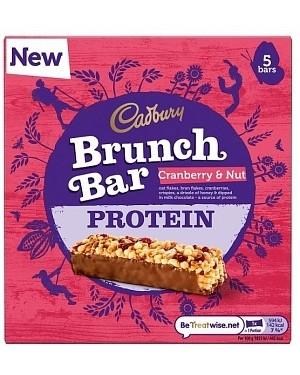 Cadbury Brunch Bar Cranberry Protein 6pk (6 x 160g)