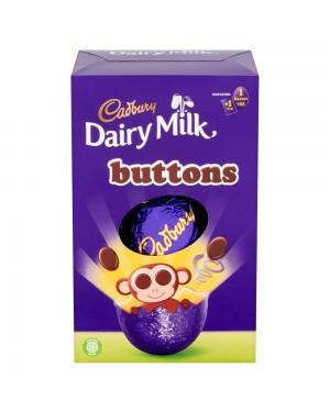 Cadbury Button Small Egg 85G Uovo Di Pasqua Con Bottoncini Di Cioccolato