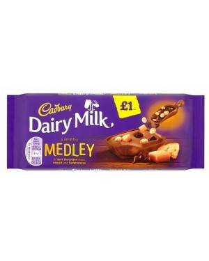 Cadbury Caramel Fudge PM£1 (18 x 93g)