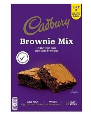 Cadbury Chocolate Brownie Mix (5 x 350g)
