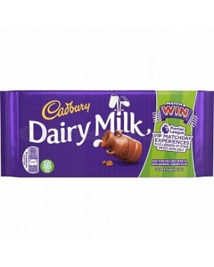 Cadbury Dairy Milk Chocolate Bar (17 x 200g)