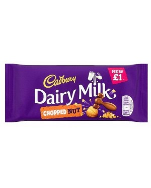 Cadbury Dairy Milk Chopped Nut PM£1 (22 x 95g)