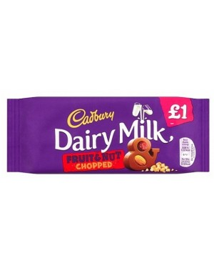 Cadbury Dairy Milk Fruit & Nut PM£1 (22 x 95g)