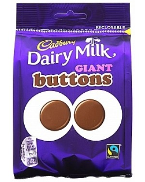Cadbury Dairy Milk Giant Buttons (10 x 119g)