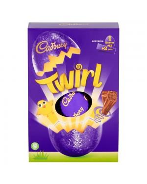 Cadbury Twirl Large Egg 262G Uovo Di Pasqua Al Cioccolato Soffiato