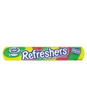 Candylnd Refresher Roll (48 x 34g)