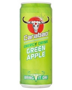 Carabao Green Apple Energy (12 x 330ml)