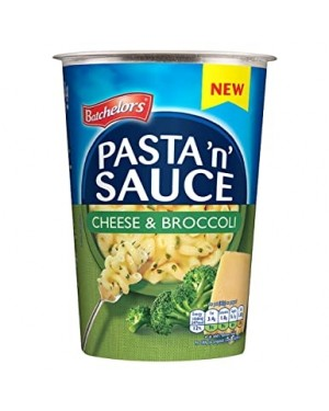 Batchlor Pasta N Sause Pot Cheese & Broccoli (6 x 65g)