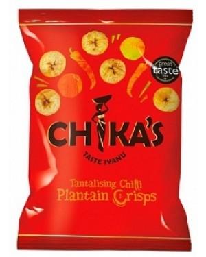 Chikas Plantain Chilli 35g (12 x 35g)