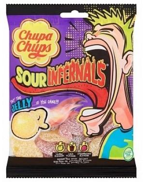 Chupa Chups Infernals Bag Sour Jellies (18 x 150g)