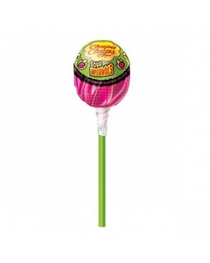 Chupa Chups Sour Infernals Lollipops Tube
