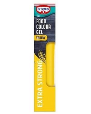 D/oetker Colour Gel Yellow (6 x 90g)