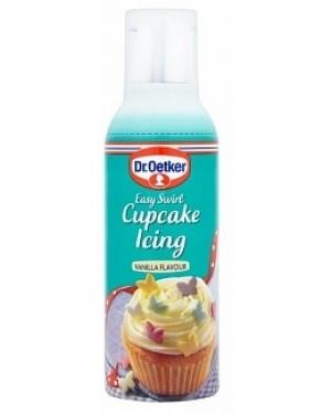 D/oetker Easy Swirl Cupcake Icing Vanilla (5 x 180g)