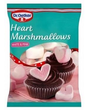 D/oetker Heart Shaped Mallows (6 x 100g)