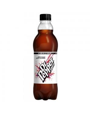 Dr Pepper Zero Sugar 500Ml Bevanda Senza Zuccheri