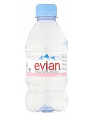 Evian Mineral Water (24 x 330ml)