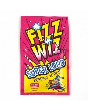 Fizz Wiz Cherry Popping Candy (Case of 50)