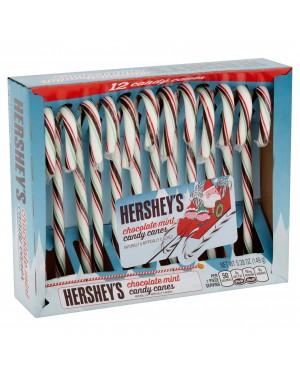 Hersheys Candy Cane Bastoncini Di Zucchero Gusto Menta E Cioccolato