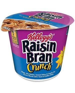 Kellogs Raisin Cereal Cup Coppetta Monodose Di Cereali Con Frutta Secca