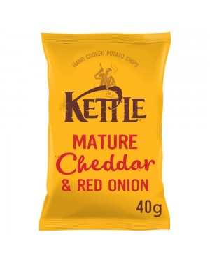 Kettle Mature Cheddar & Red Onion