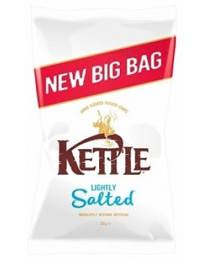 Kettle Lightly Salted 250g (8 x 250g)
