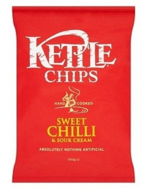 Kettle Sweet Chilli Chips (12 x 150g)