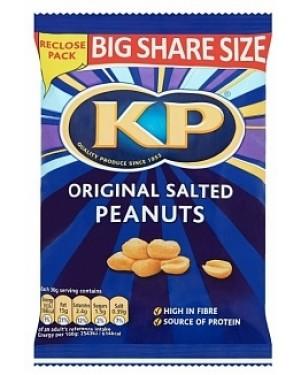 Kp Nuts Original Salted Peanuts (6 x 415g)