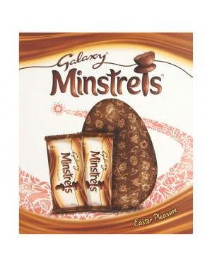 Mar Galaxy Minsterls Egg Large 262G Uovo Di Pasqua Al Cioccolato In Guscio Di Zucchero
