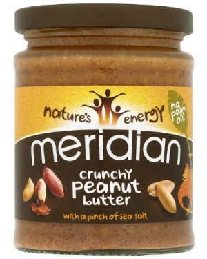 Meridian Peanut Butter Crunchy (6 x 280g)
