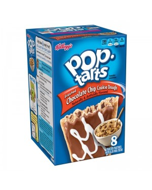 Pop Tarts 8X Biscotti Chocolate Chip Cookie Dough