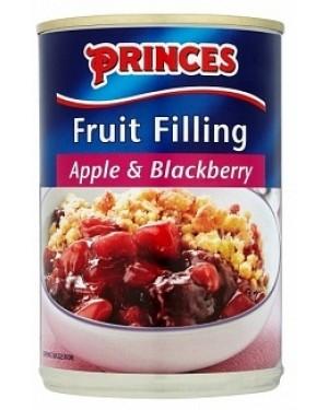 Princes Apple/blackberry Fruit Filling (6 x 395g)