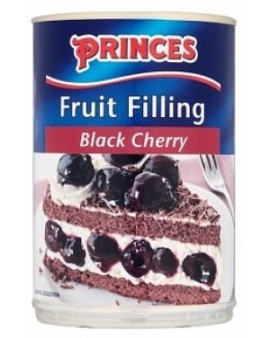 Princes Black Cherry Fruit Filling (6 x 410g)