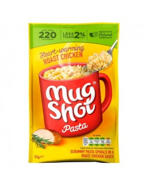 Mugshot Roast Chicken Pasta (10 x 55g)