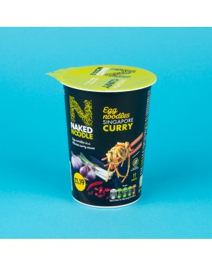 Naked Noodle Singapore Curry Noodle Pot (5 x 78g)