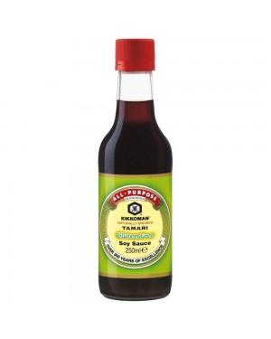 Kikkoman Tamari Gluten Free Soy Sauce (6 x 250ml)