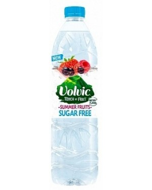 Volvic Touch Of Fruit Summer Fruits Sugar Free (6 x 1.00l)