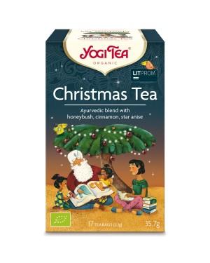 Yogi Tea Christmas Confezione 17 Infusi Gusto Cyclopia, Anice Stellato E Cannella