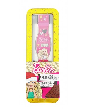 Barbie Orologio Digitale Con Due Barrette Di Cioccolato Al Latte