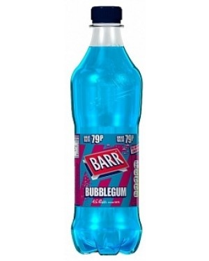 Barr Bubblegum PM79p (12 x 500ml)