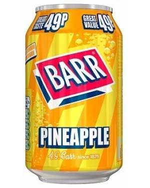 Barr Pineapple PM49p (24 x 330ml)