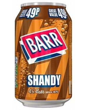 Barr Shandy PM49p (24 x 330ml)