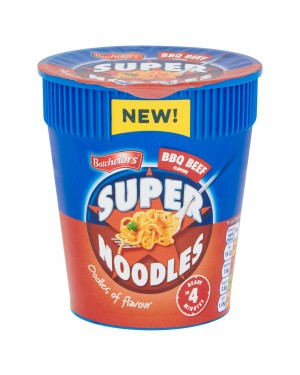 Batchelors Super Noodles Pot Bbq Beef (8 x 75g)