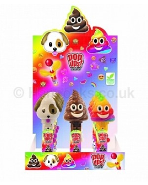 Bip Moji Pop Up Lollipops (Case of 12)
